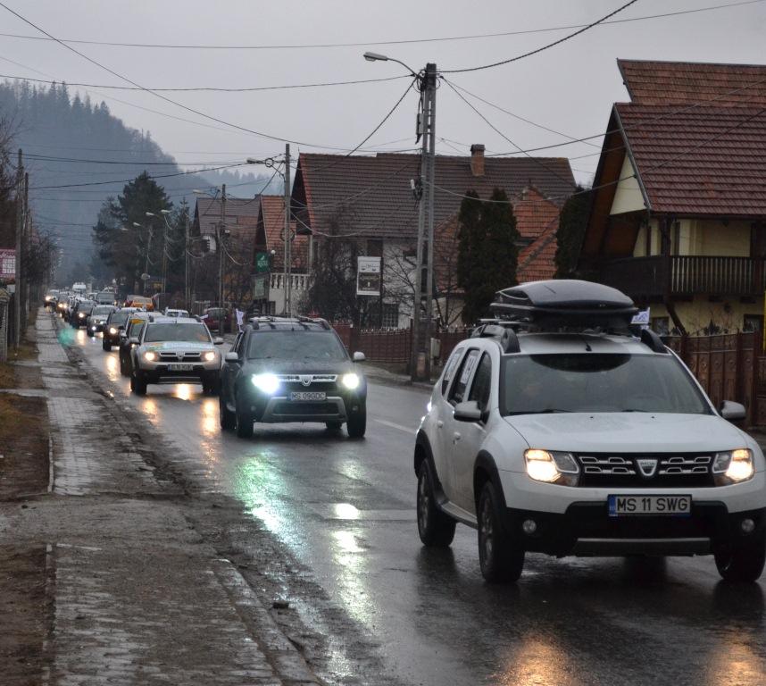 40 Strong Dacia Duster Convoy