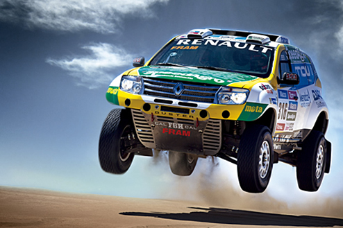 The Renault Duster Team sets its sights on the Top 10 on the 2015 Dakar Rally