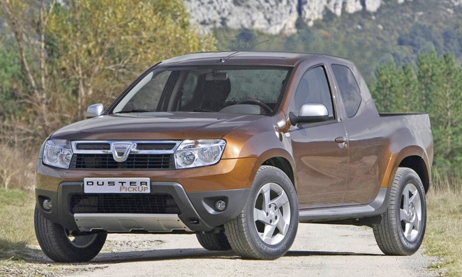 Dacia Duster Pickup, coming to the UK, sometime.