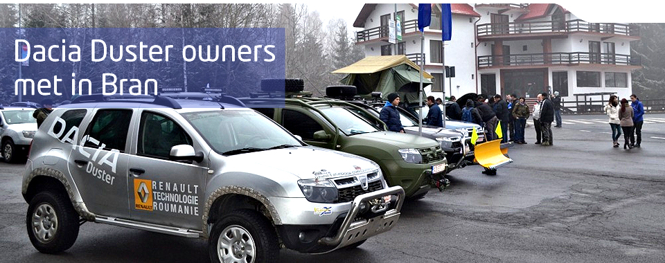 Modified Dacia Dusters Congregate In Bran