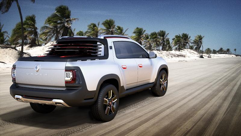 Duster Oroch Show Car To Be Unveiled In Sao Paulo
