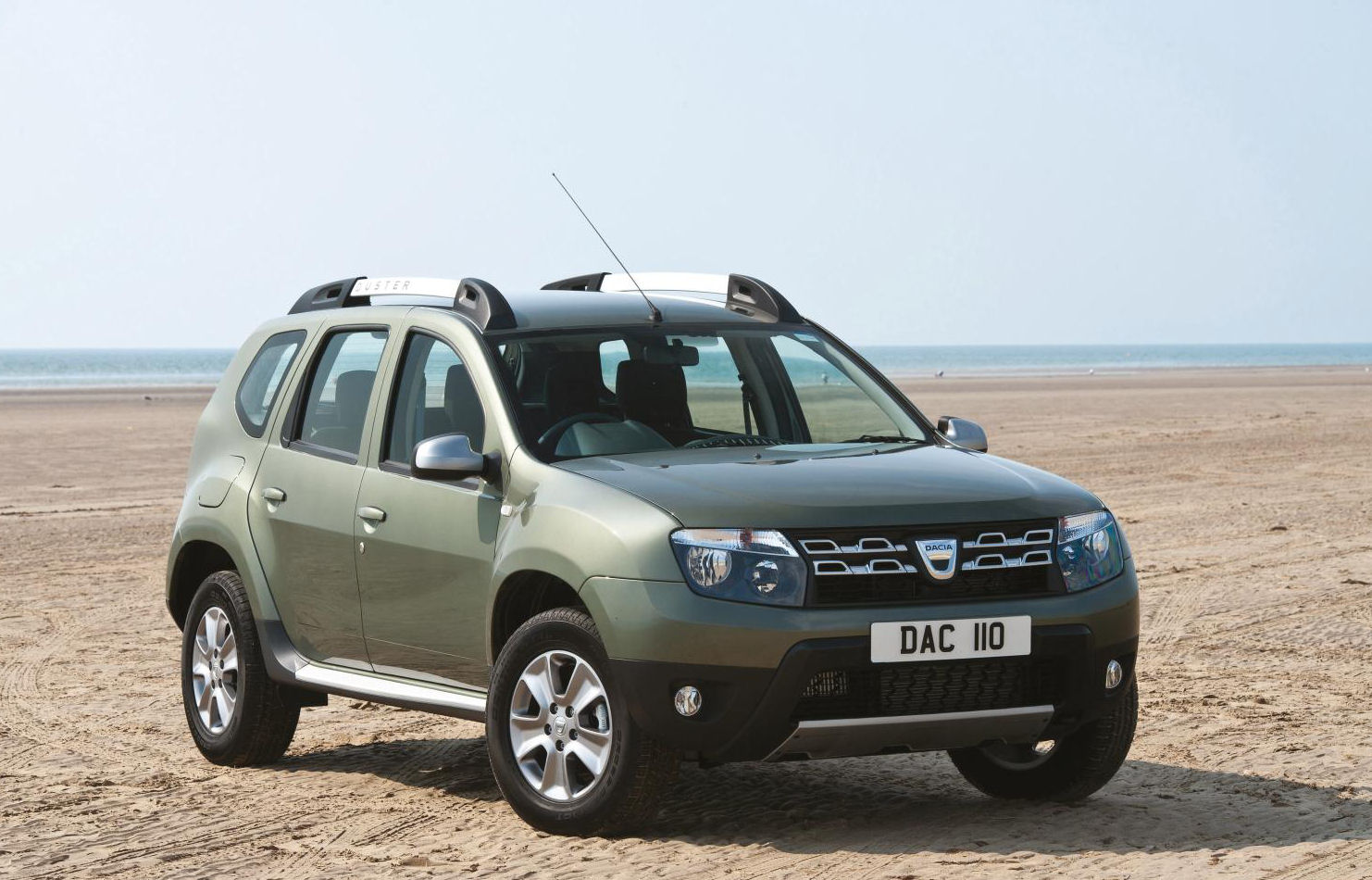 The new facelifted Dacia Duster