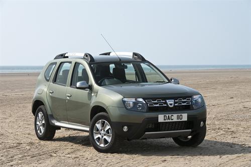 Facelifted UK Dacia Duster